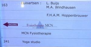 Entree Yogastudio Amsterdam Noord