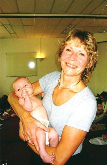 Zwangerschapsyoga Wil met baby