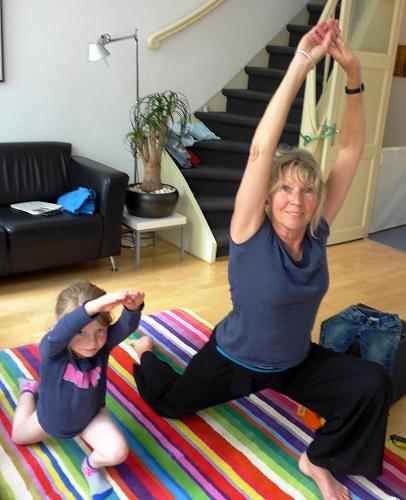 Yoga met Lieve
